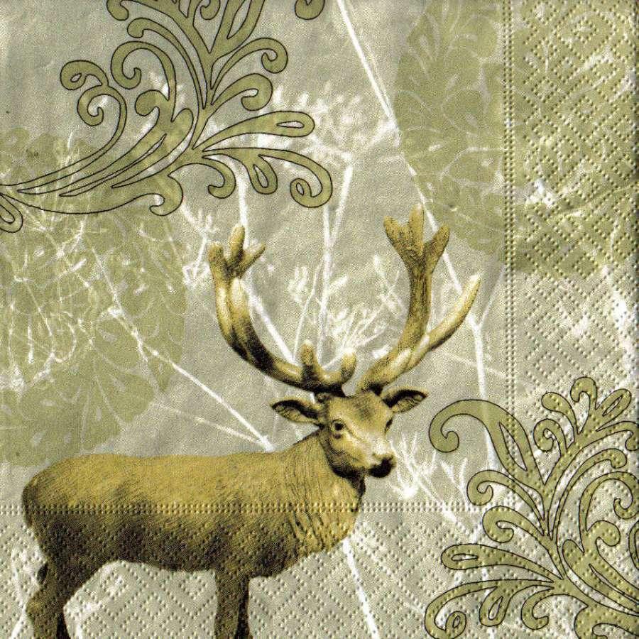 Ubrousek 33x33 cm JELEN Paper Design