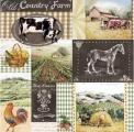 Ubrousek 33 x 33 cm COUNTRY FARMA