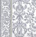 Ubrousky 33 x 33 cm VZOR stříbrný