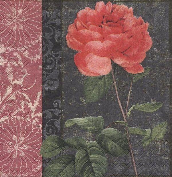 Ubrousek 33 x 33 cm RŮŽE Paper Design