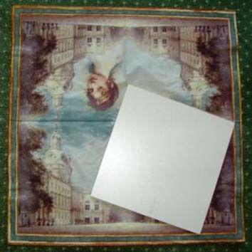 Sololák destička 16x16 cm + háček