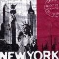Ubrousky 33x33 cm NEW YORK