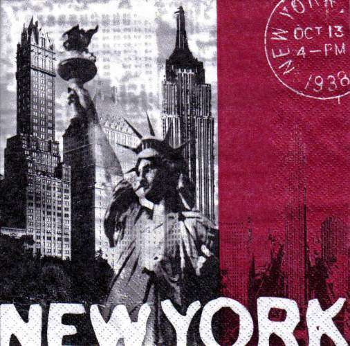 Ubrousky 33x33 cm NEW YORK Ti Flair