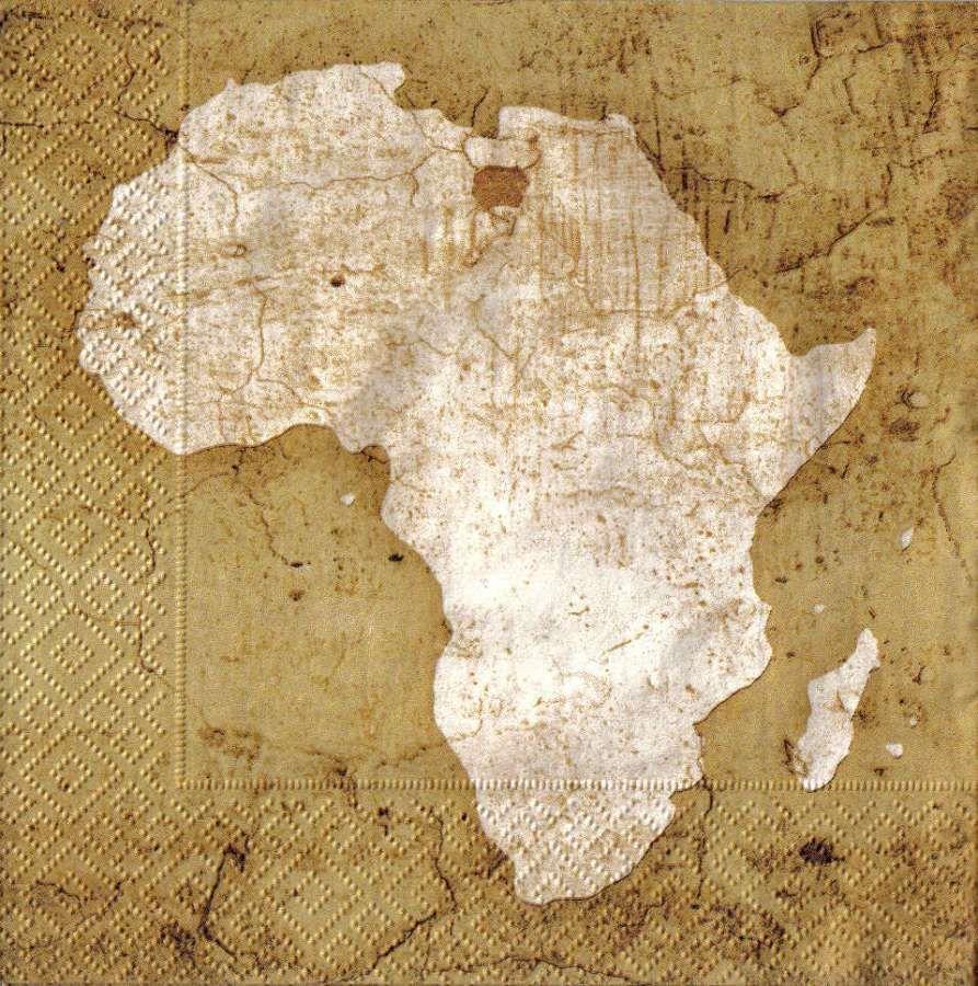 Ubrousek 33 x 33 cm AFRIKA