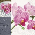 Ubrousek 33x33 Orchidej